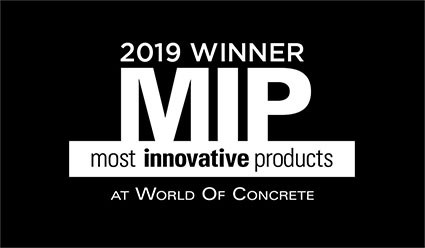 2019 Most Innovative Products Winner - World Of Concrete